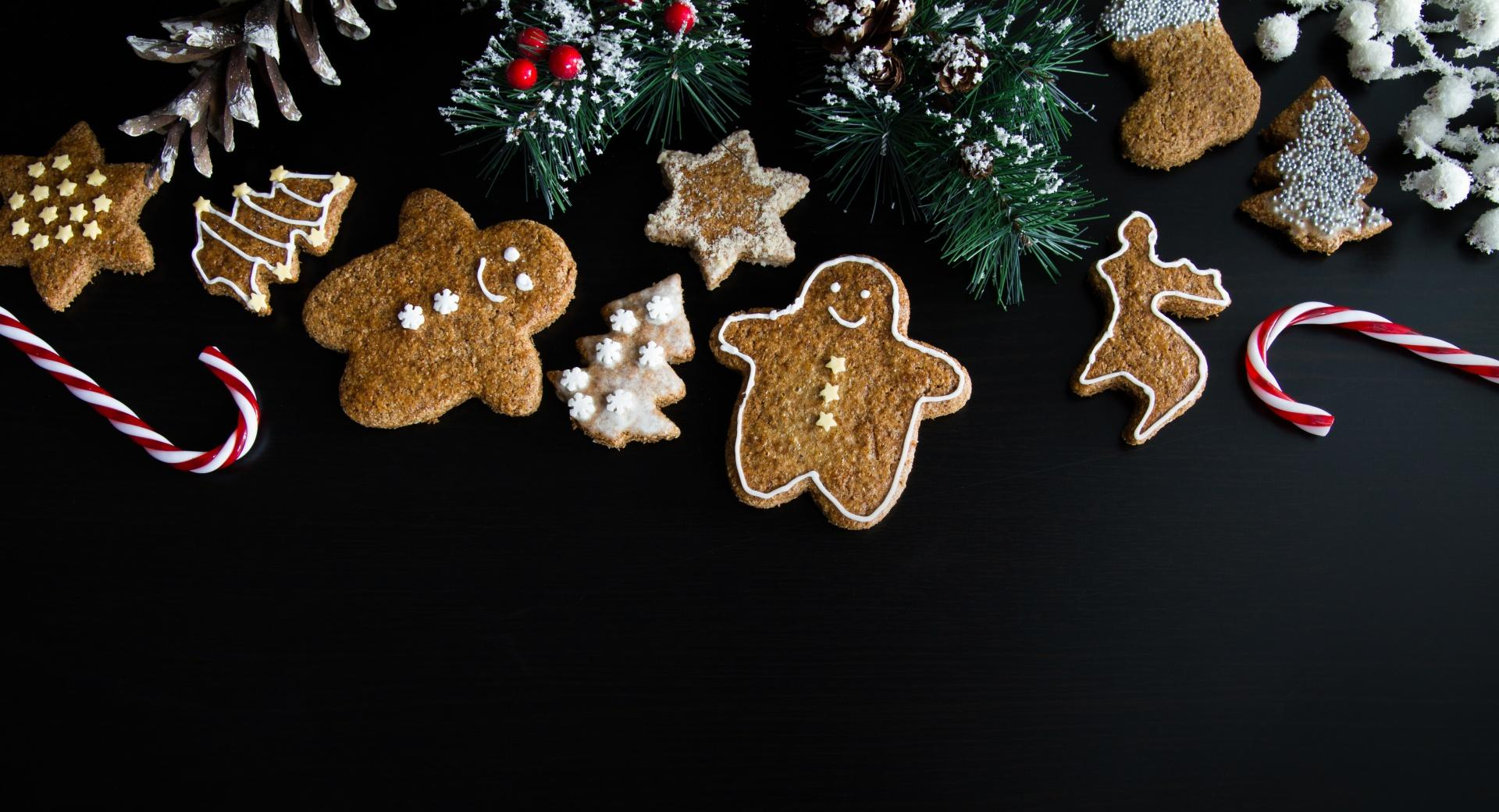 Xmas Gingerbread Man wallpapers HD quality