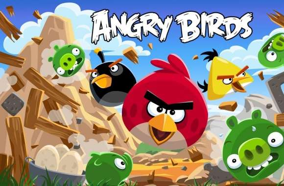 Angry Birds New Version wallpapers hd quality