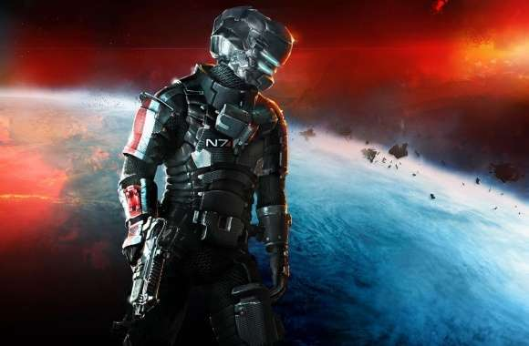 Dead Space 3 - Mass Effect N7 Armor