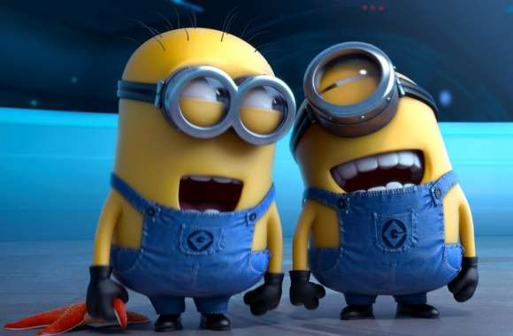 Despicable Me 2 Laughing Minions wallpapers hd quality