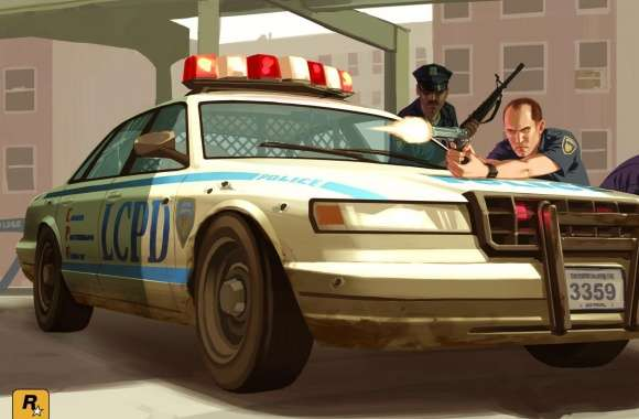 GTA 4 Cops wallpapers hd quality