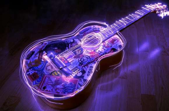 Guitar, Creative Art