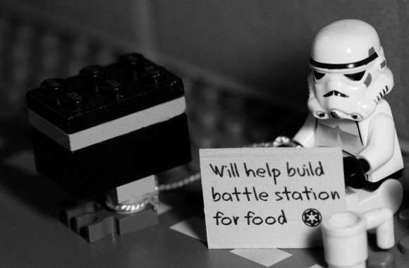 Help For A Stormtrooper