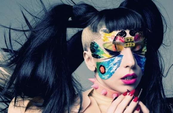Lady Gaga Butterfly