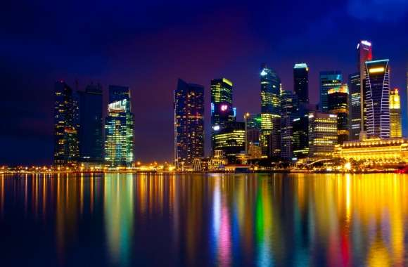 Marina Bay Singapore wallpapers hd quality