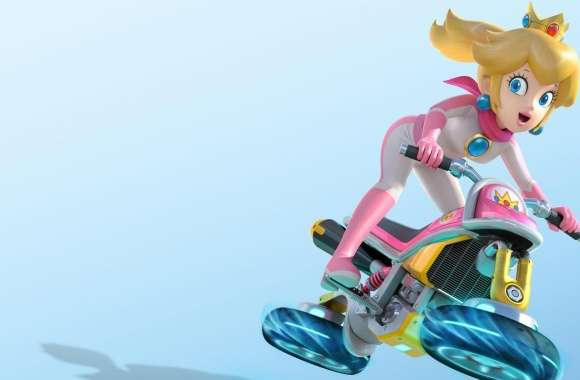 Mario Kart 8 Princess Peach wallpapers hd quality