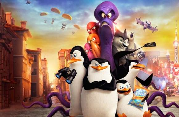 Penguins of Madagascar Funny Movie