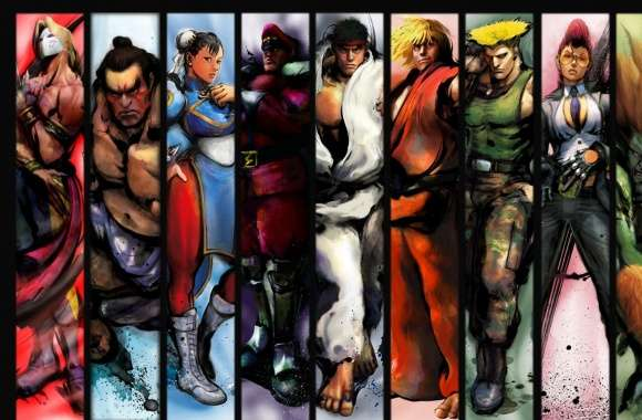 Street Fighter Characters wallpapers hd quality