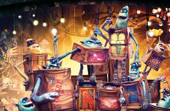 The Boxtrolls Characters 2014 Movie