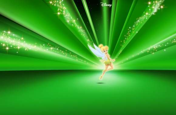 Tinkerbell Disney Green wallpapers hd quality