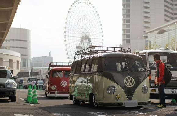 Volkswagen Microbus wallpapers hd quality