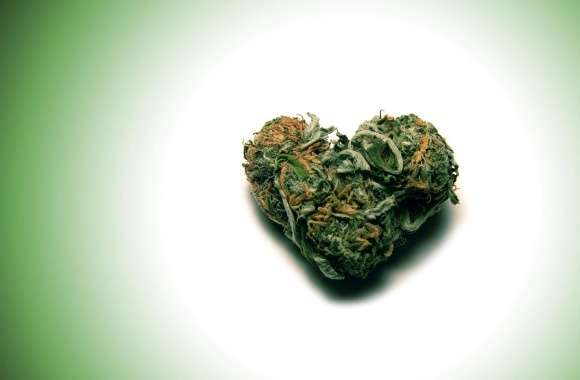Weed Heart wallpapers hd quality
