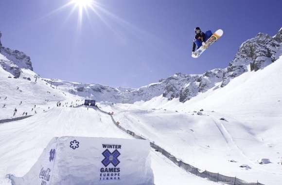 Winter Games Europe Tignes