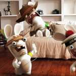Rayman Raving Rabbids Playing Wii pics