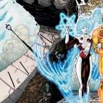 Firestorm Comics background