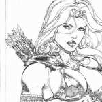 Red Sonja hd wallpaper