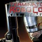 Terminator Robocop desktop wallpaper