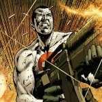 Bloodshot Comics background