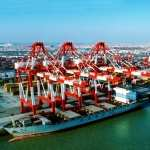 Container Terminal high definition photo
