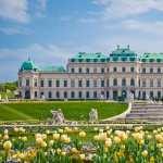 Upper Belvedere Palace widescreen