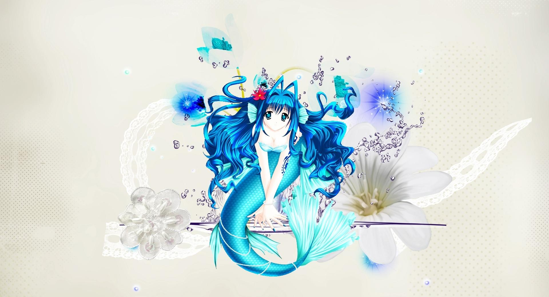 Anime Mermaid wallpapers HD quality