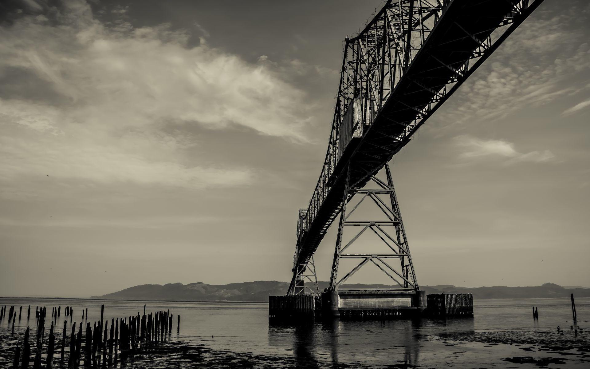 Astoria–Megler Bridge wallpapers HD quality