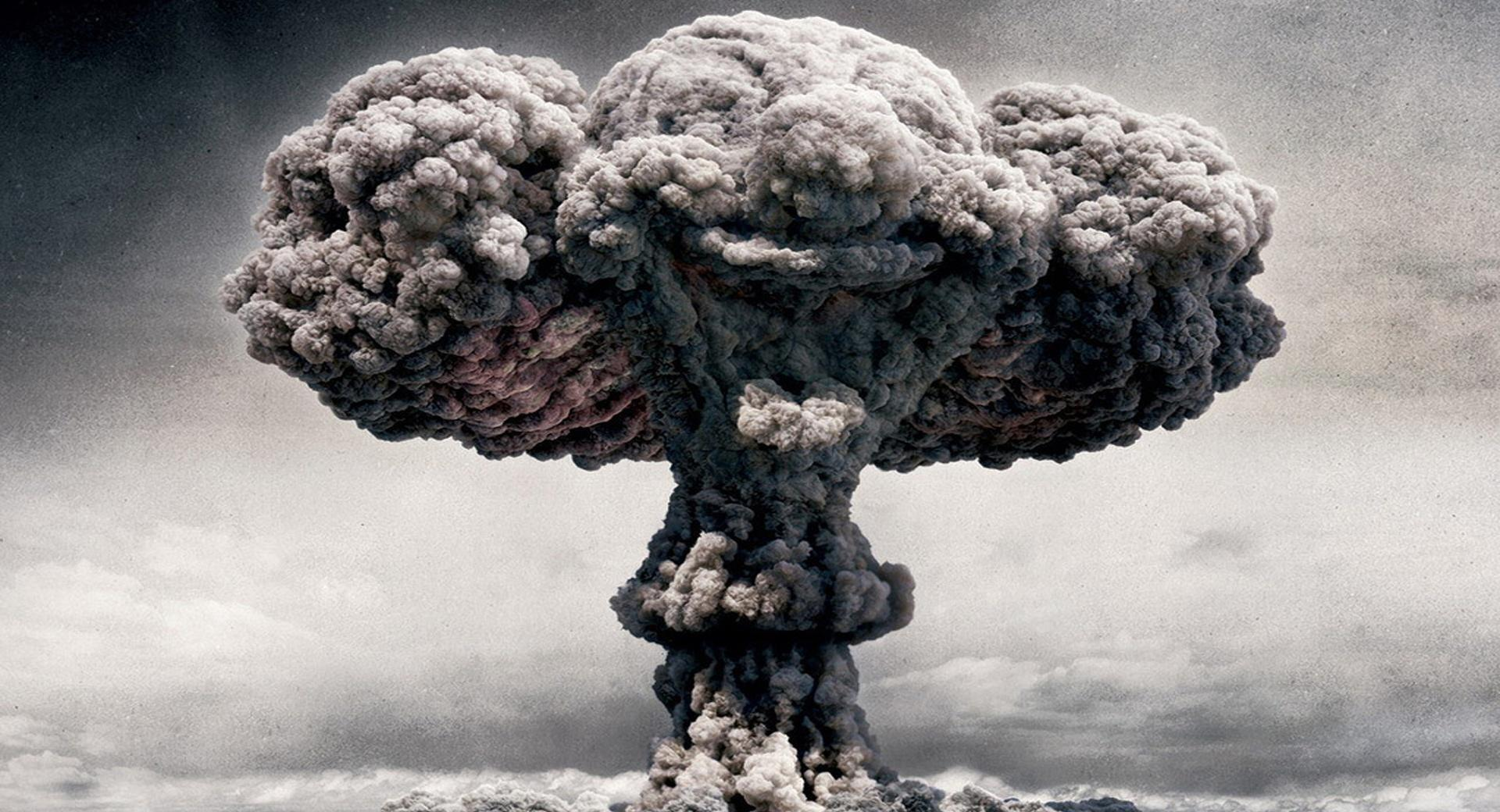 Atomic Mushroom Cloud wallpapers HD quality