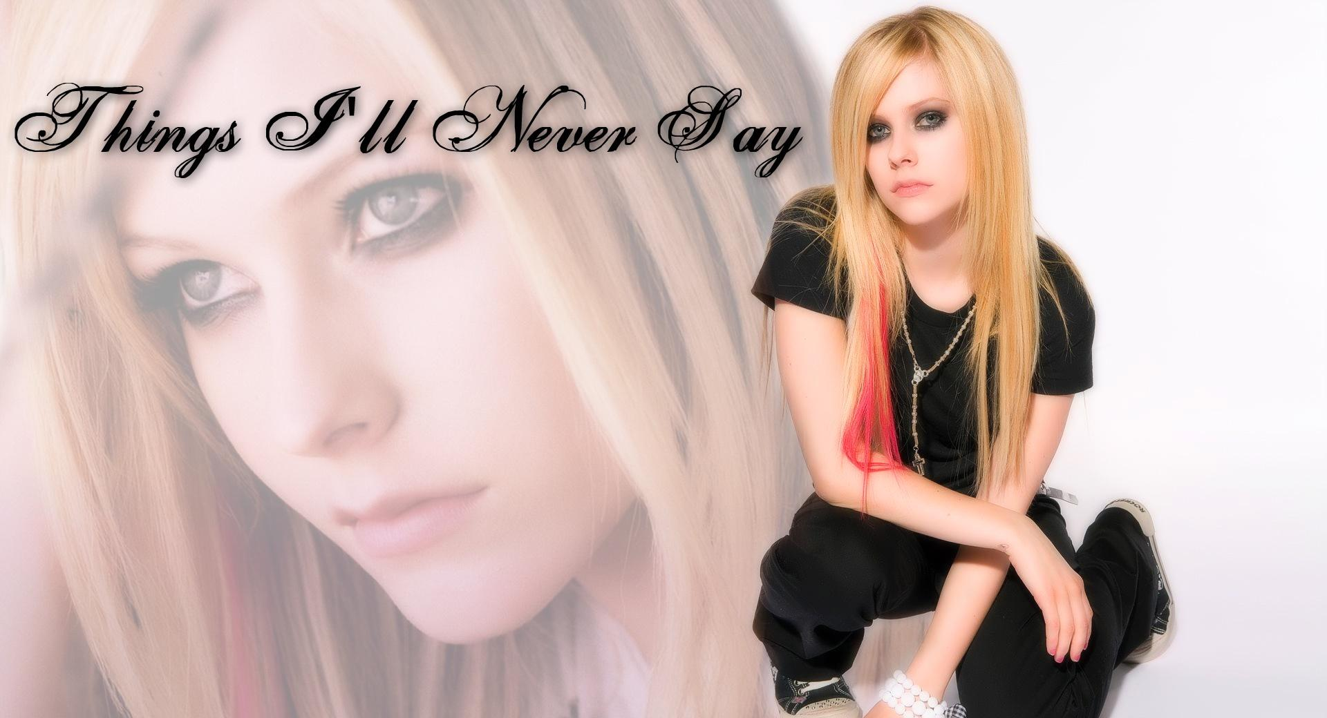 Avril Lavigne Things Ill Never Say wallpapers HD quality
