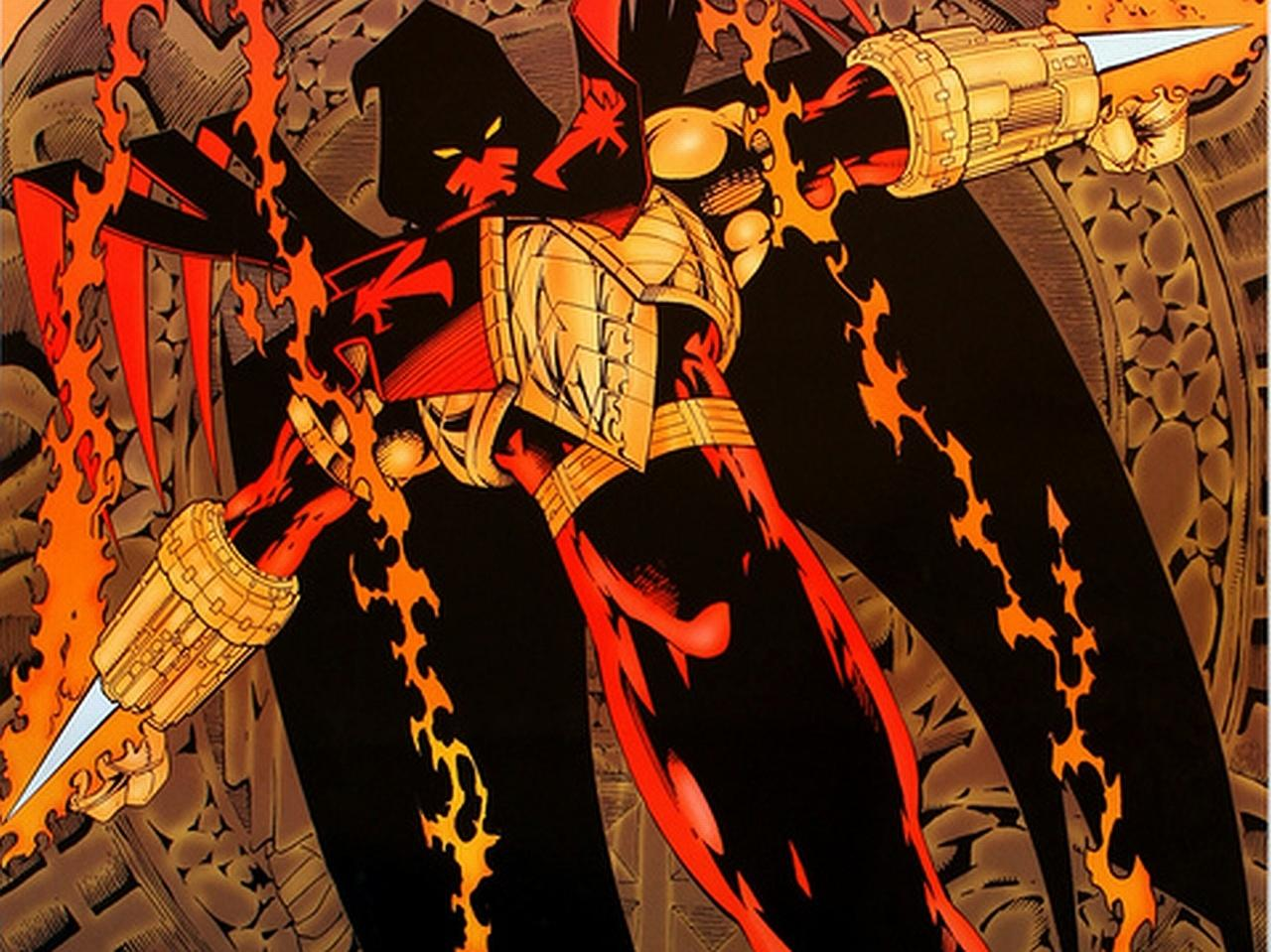 Azrael Comics at 750 x 1334 iPhone 6 size wallpapers HD quality