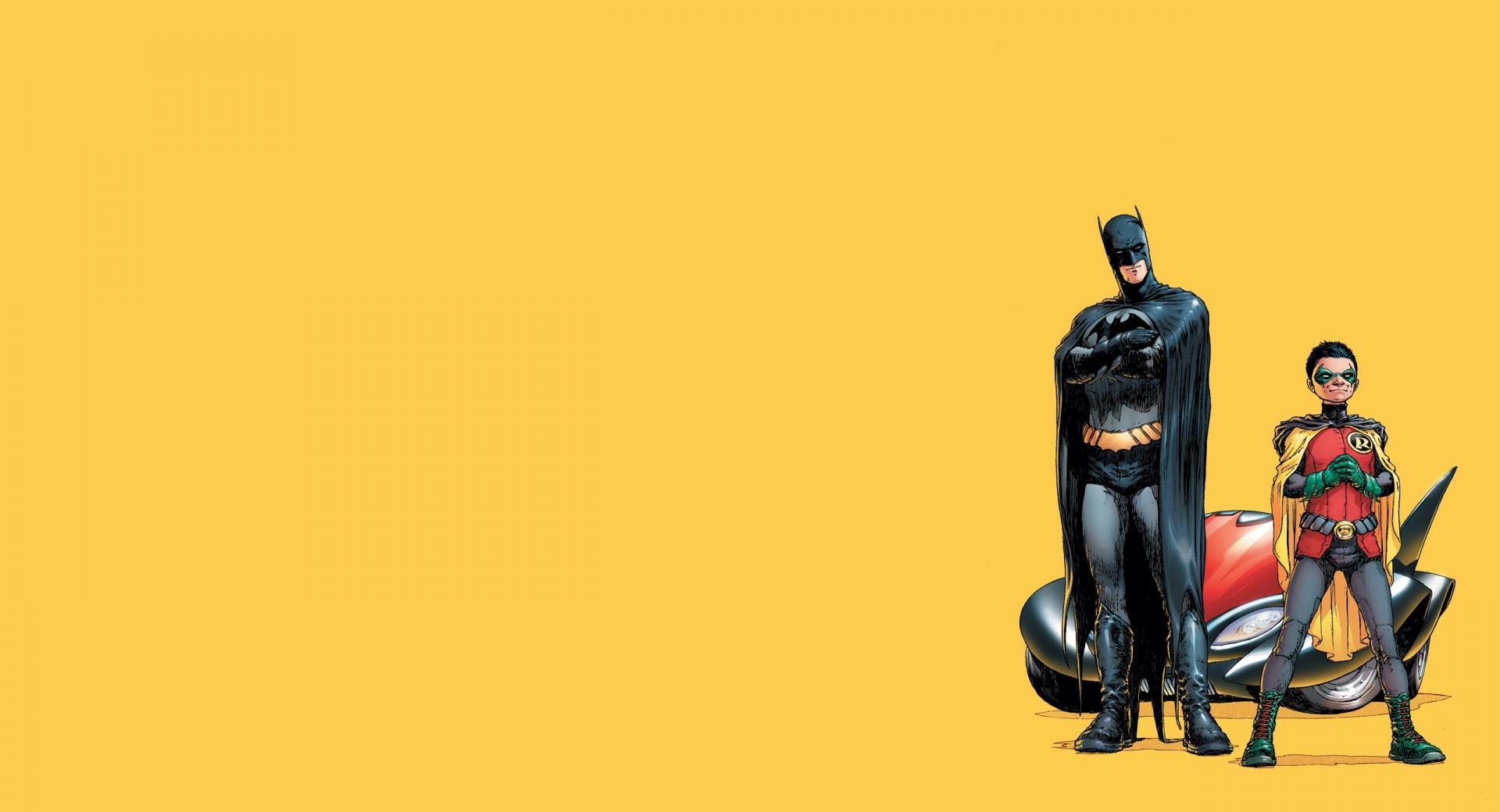 Batman And Robin Cartoon wallpapers HD quality