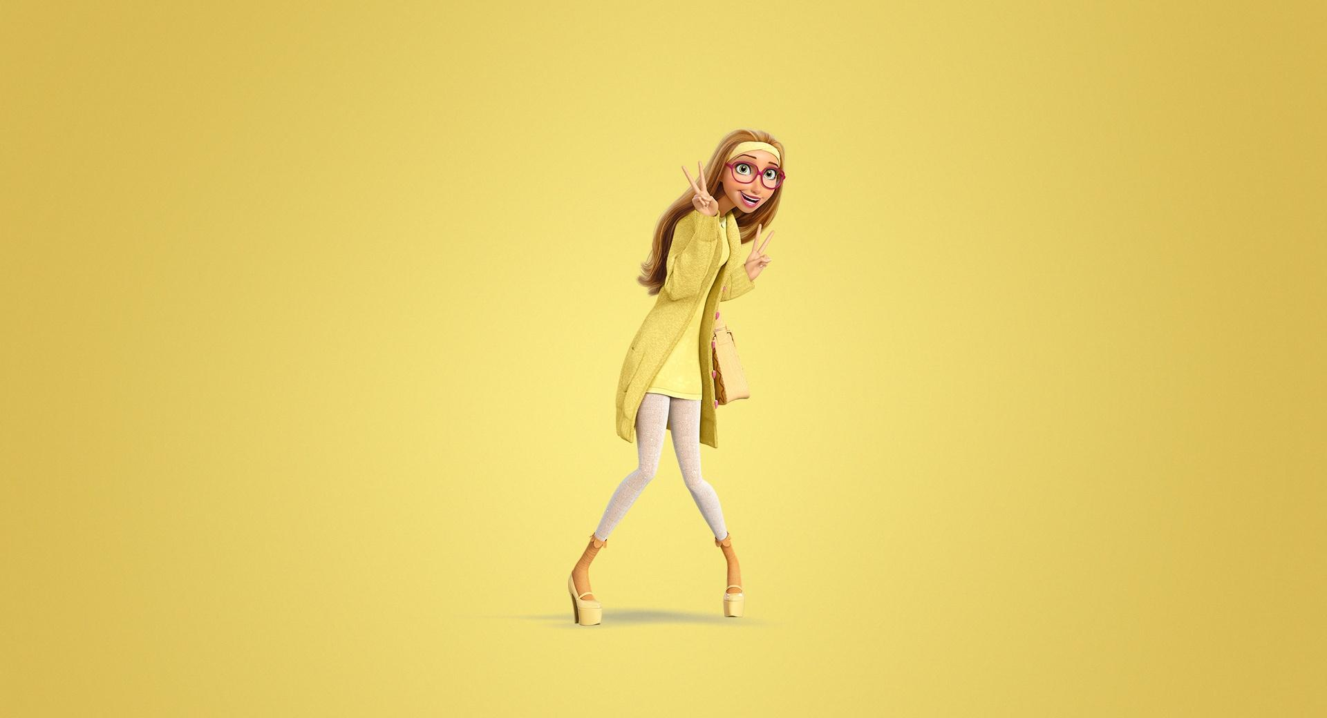 Big Hero 6 Lemon 2014 Movie wallpapers HD quality