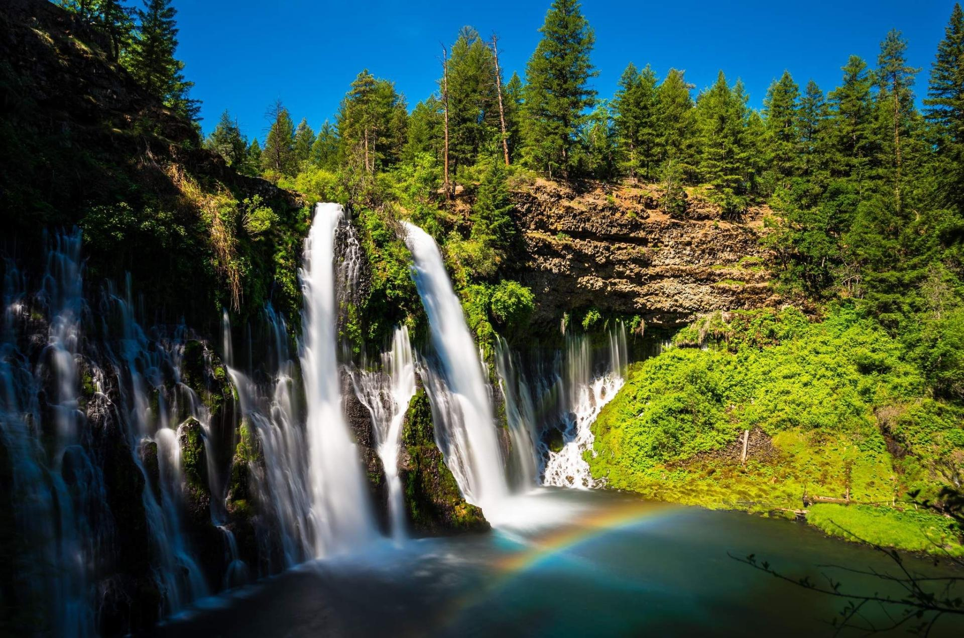 Burney Falls wallpapers HD quality