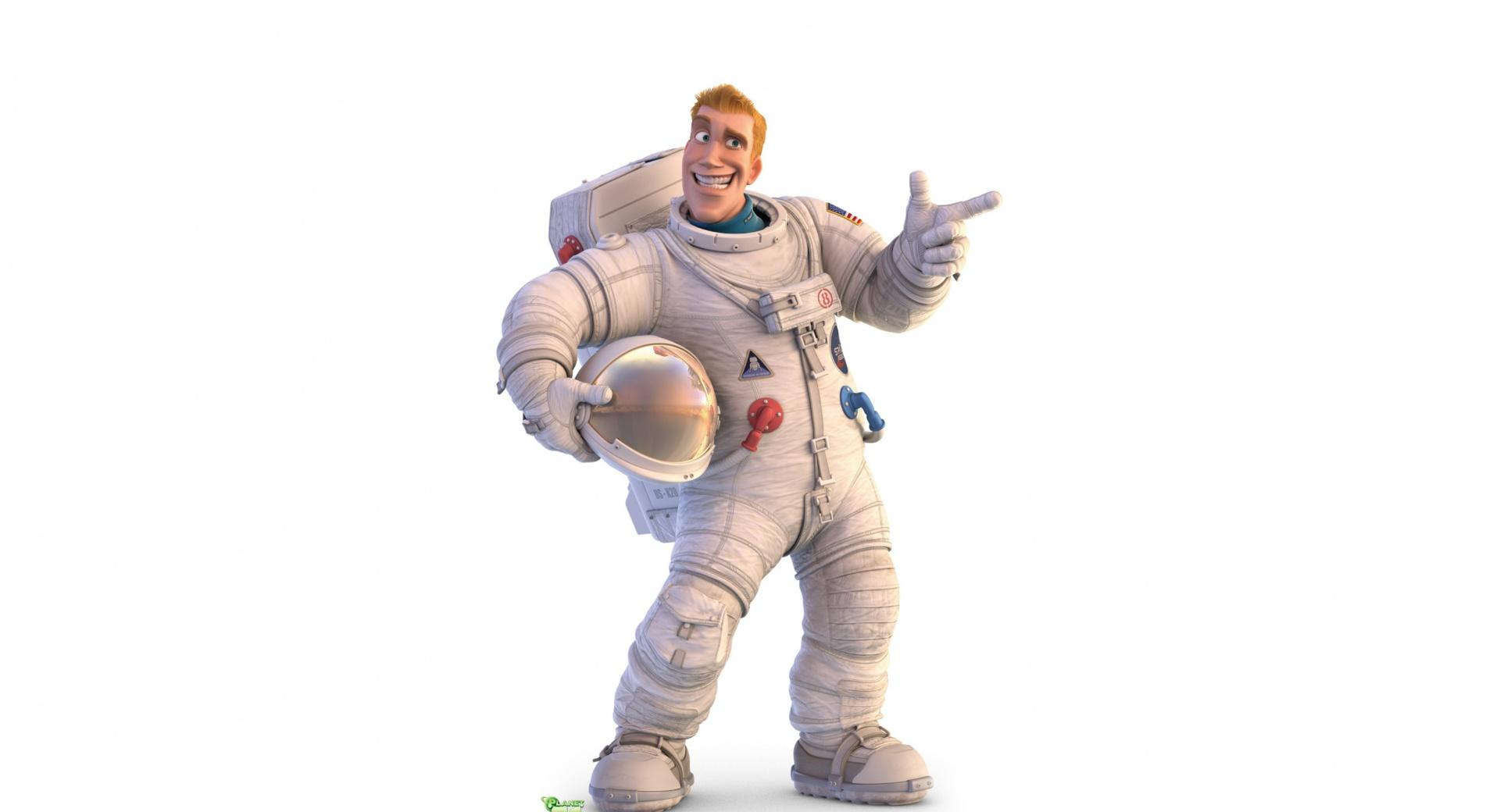 Captain Charles Chuck Baker Planet 51 wallpapers HD quality