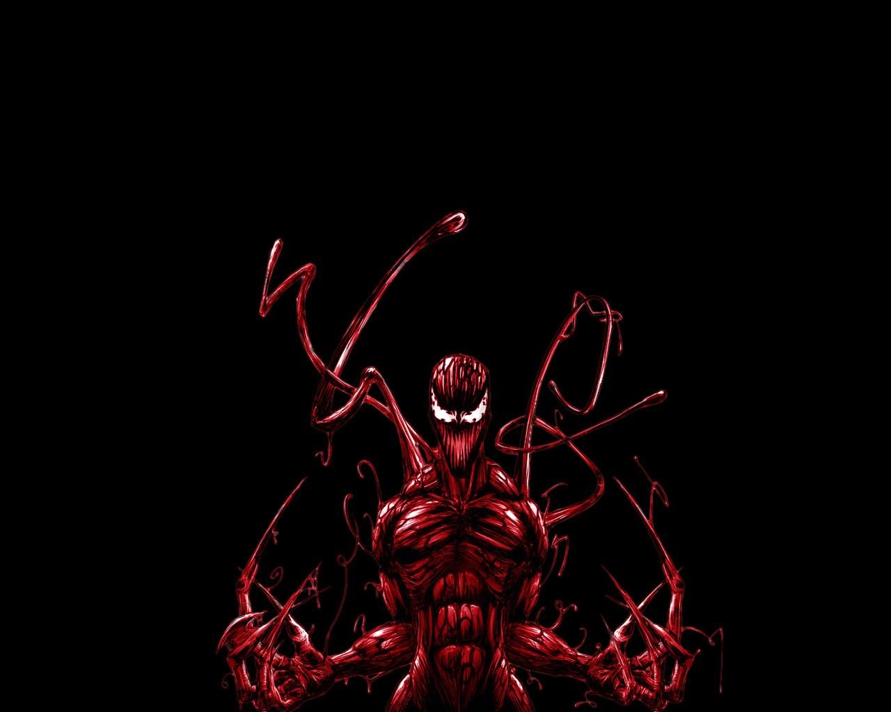 Carnage Comics at 320 x 480 iPhone size wallpapers HD quality