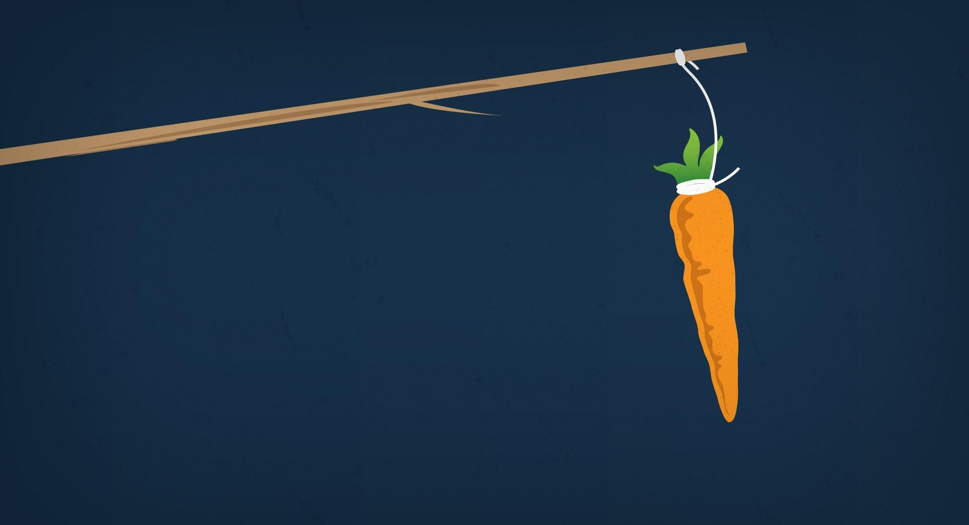 Carrot on a Stick wallpapers HD quality