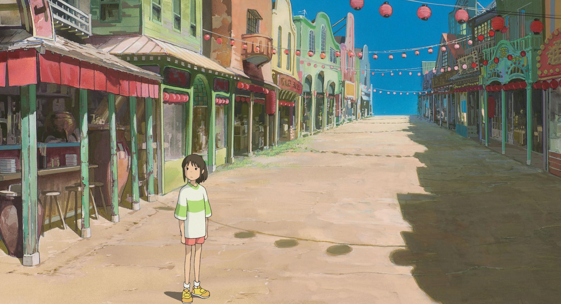 Chihiro On The Street wallpapers HD quality
