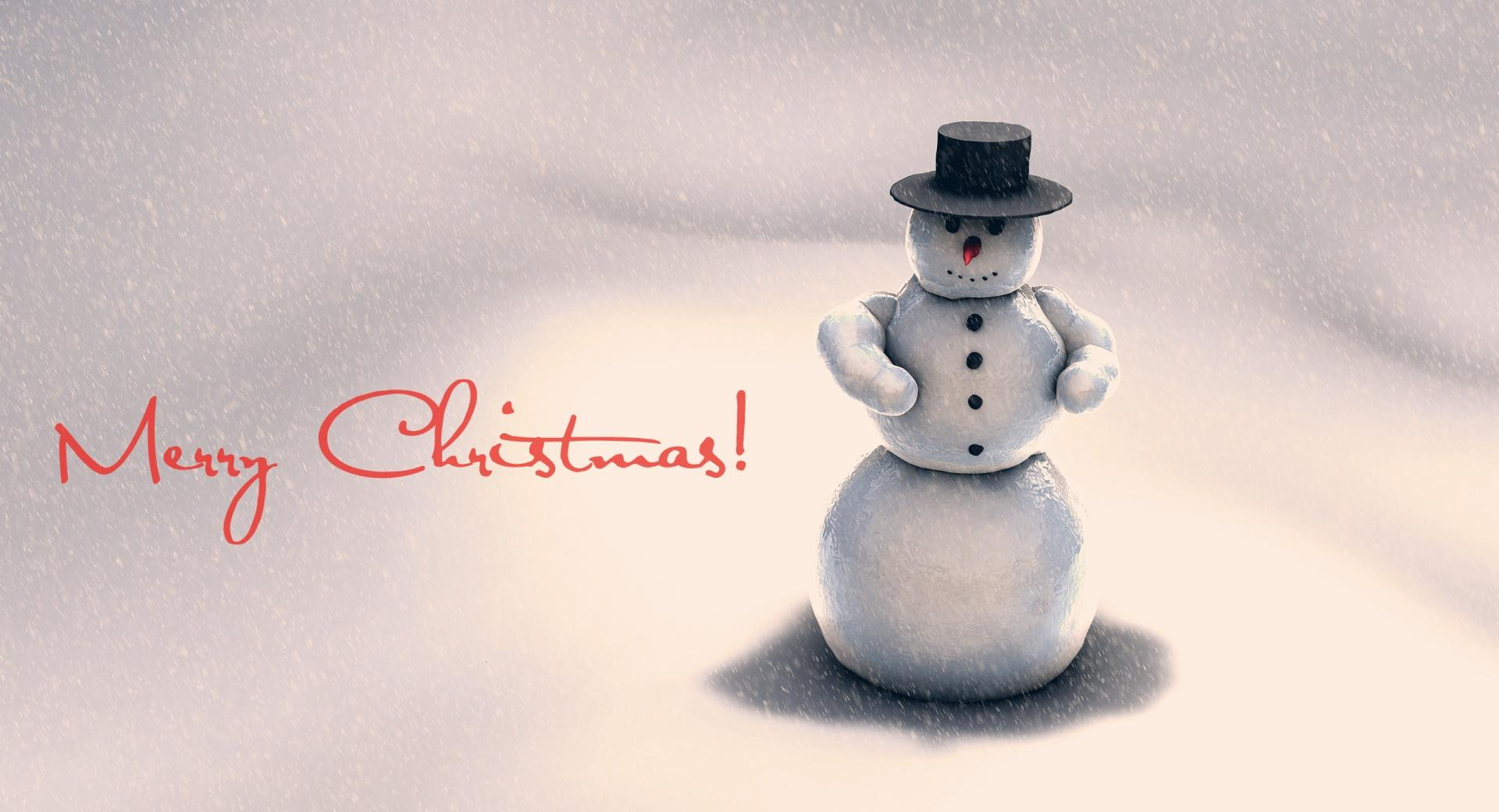 Christmas Snowman wallpapers HD quality