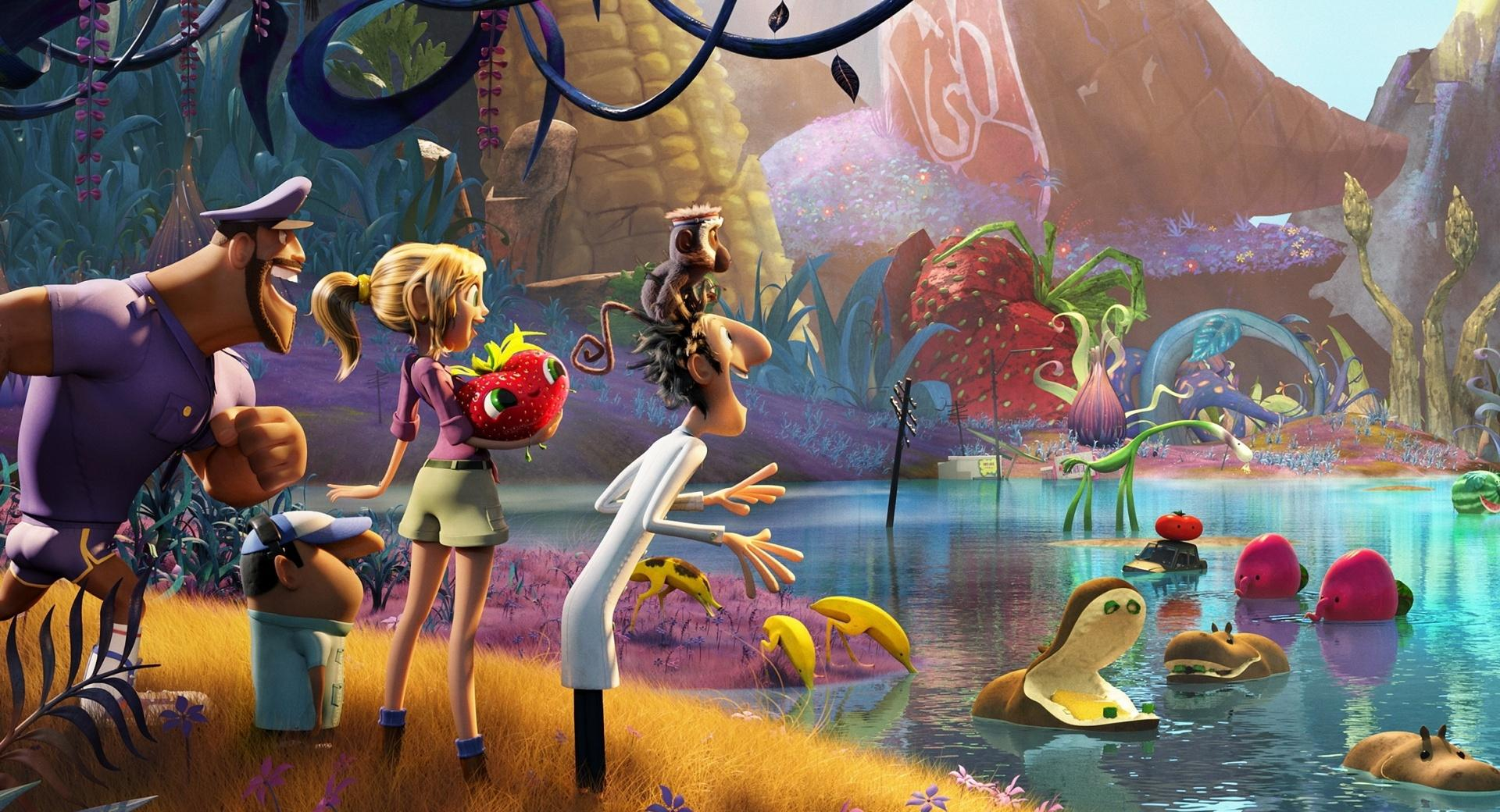 Cloudy with a Chance of Meatballs 2 2013 wallpapers HD quality