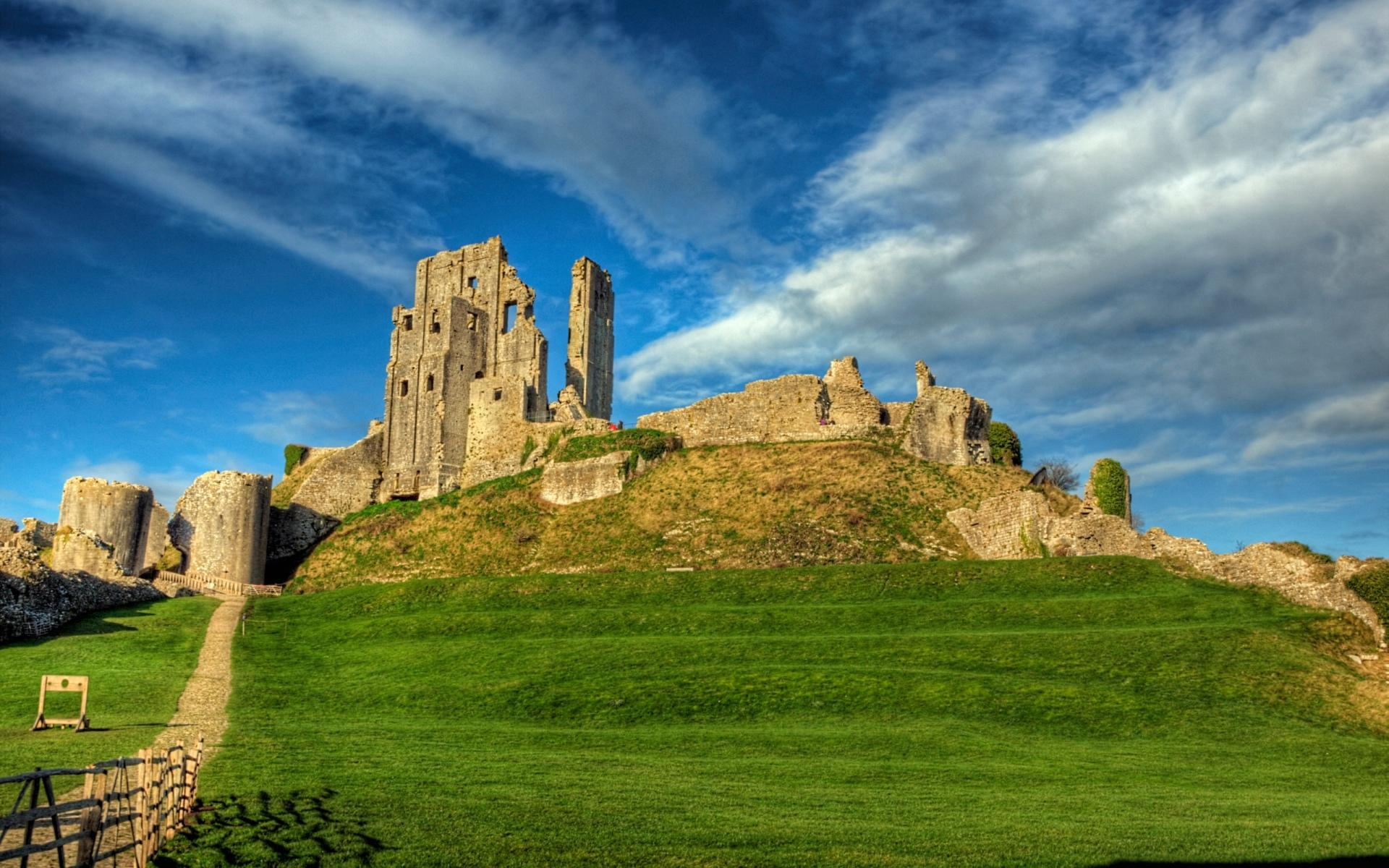 Corfe Castle wallpapers HD quality