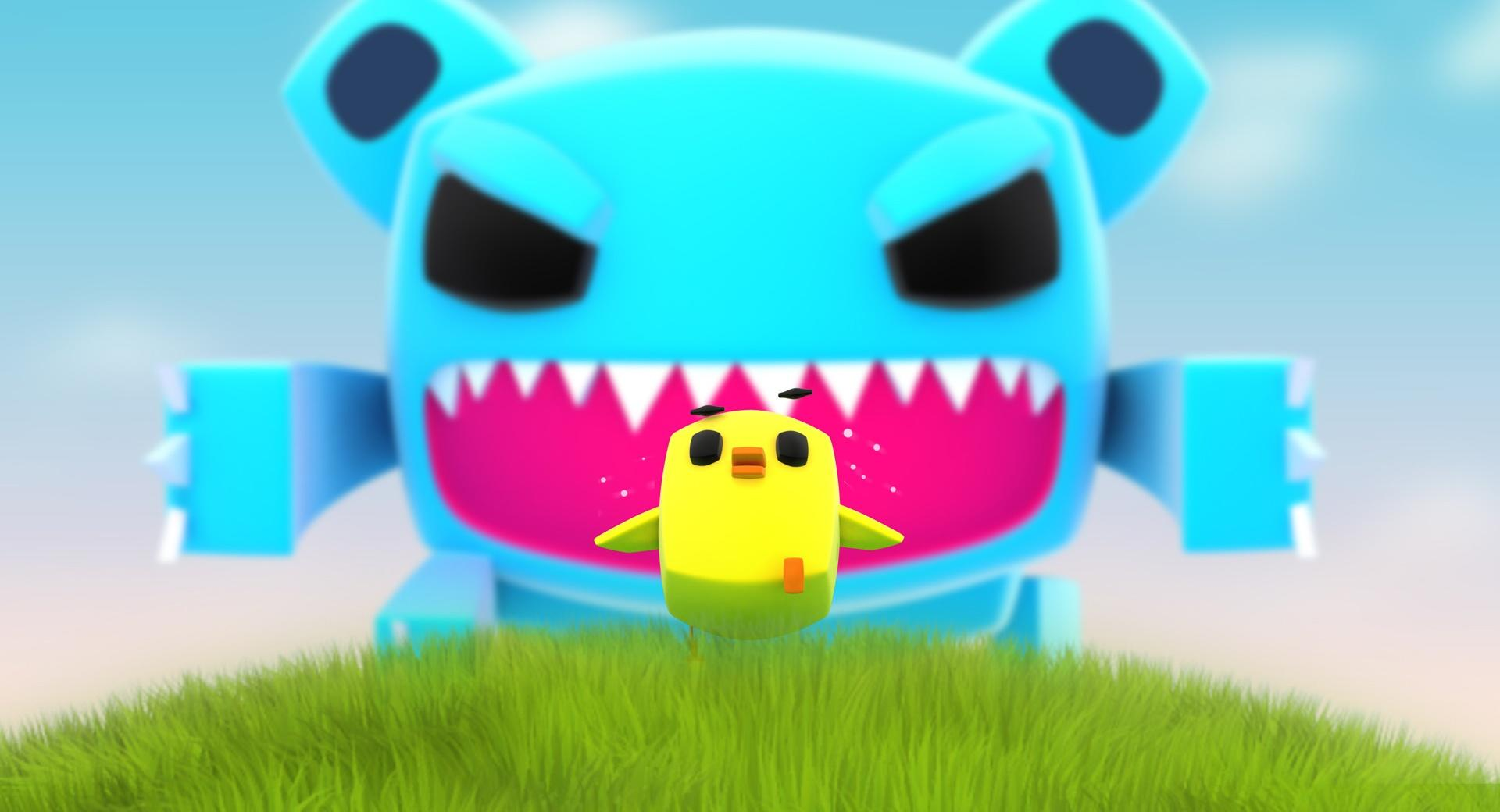 Creative Big Monster wallpapers HD quality