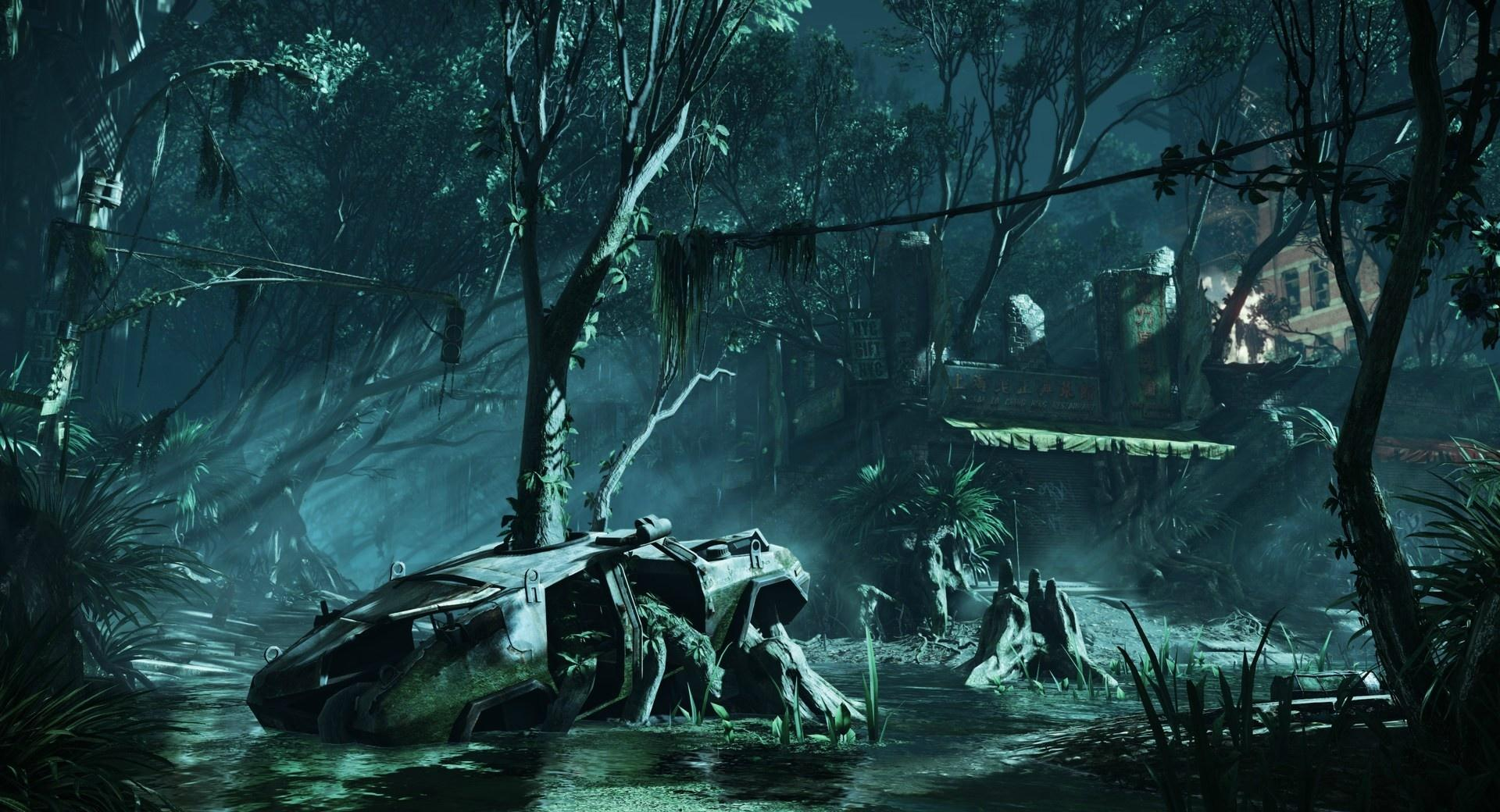 Crysis 3 New York City Ruins at 1152 x 864 size wallpapers HD quality