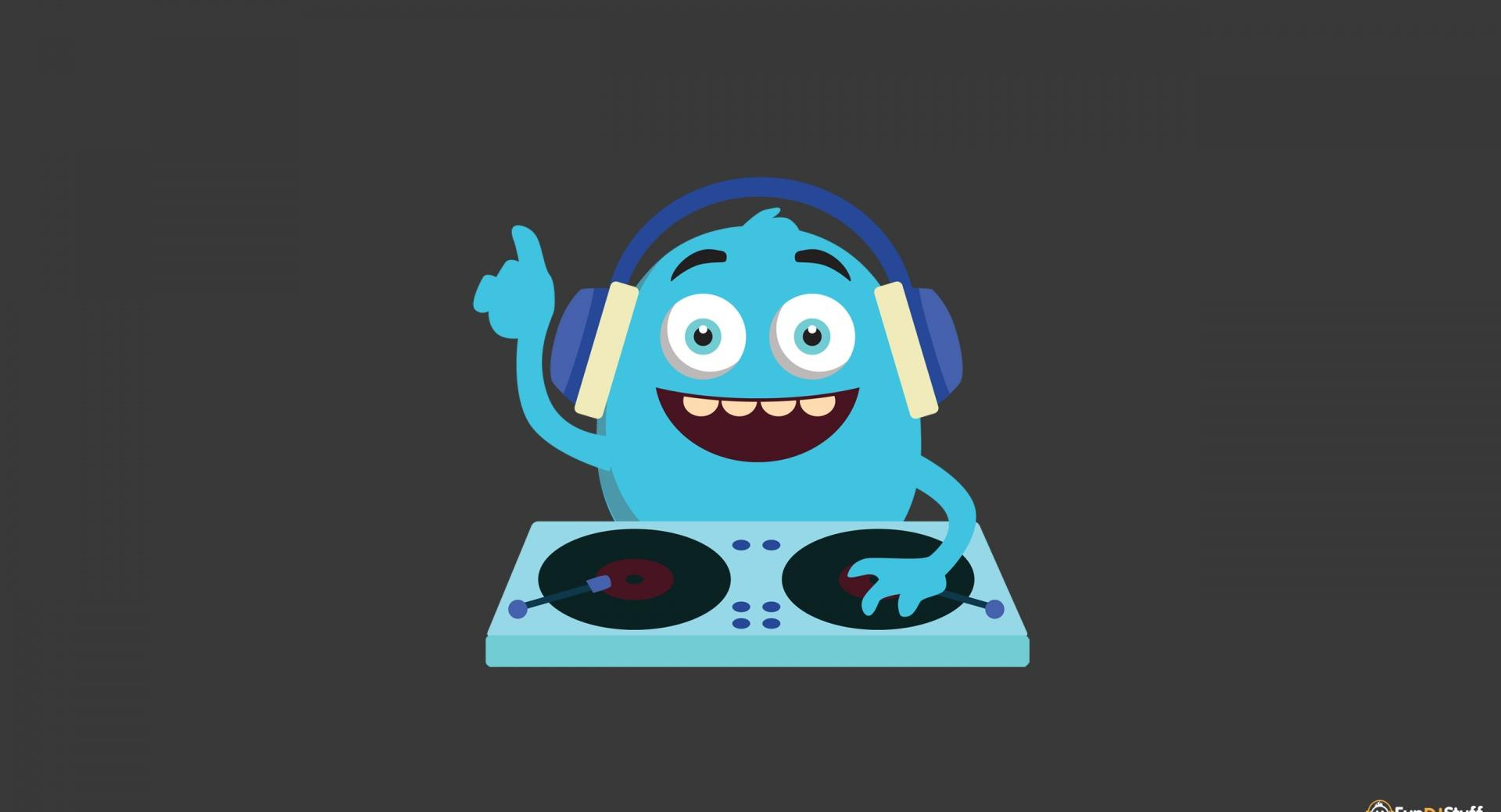 Cute Monster DJ wallpapers HD quality