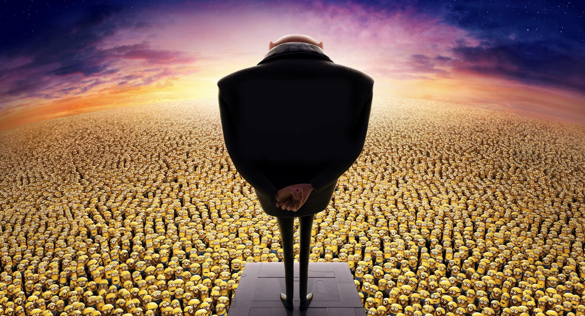 Despicable Me 2 Gru and Minions wallpapers HD quality