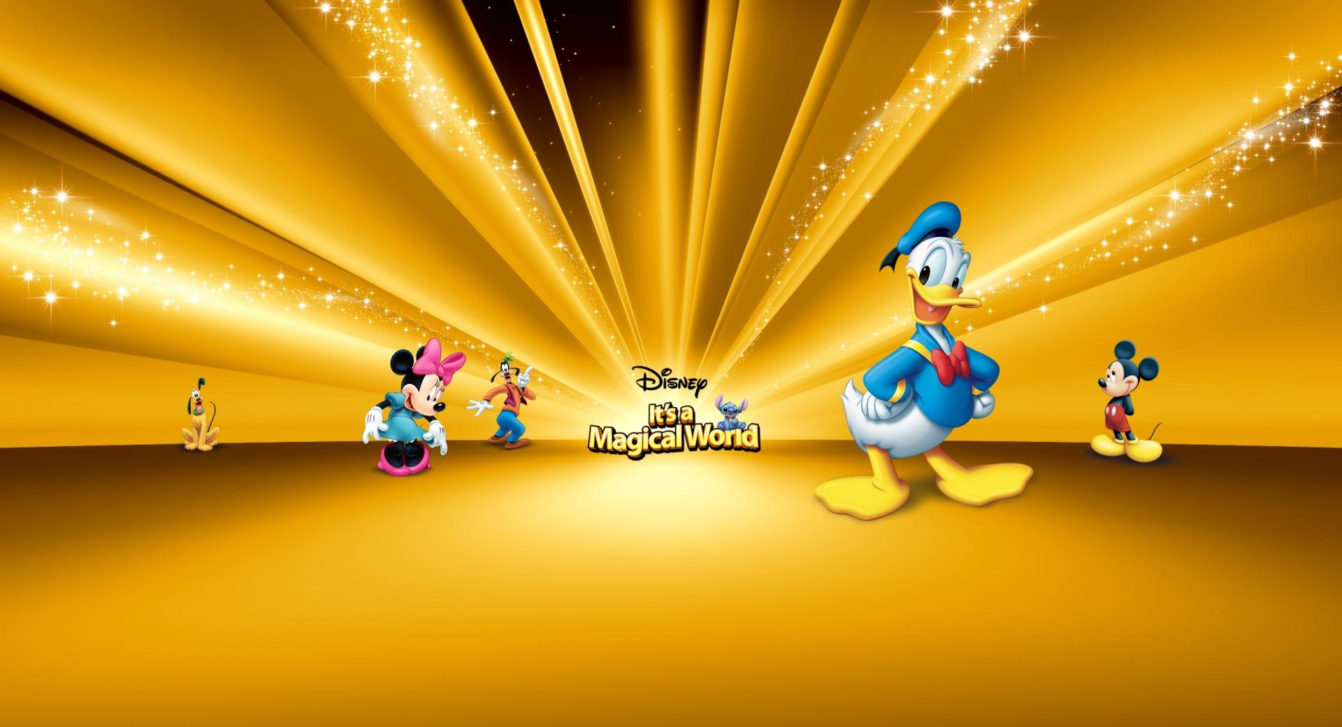 Disney Characters Gold wallpapers HD quality