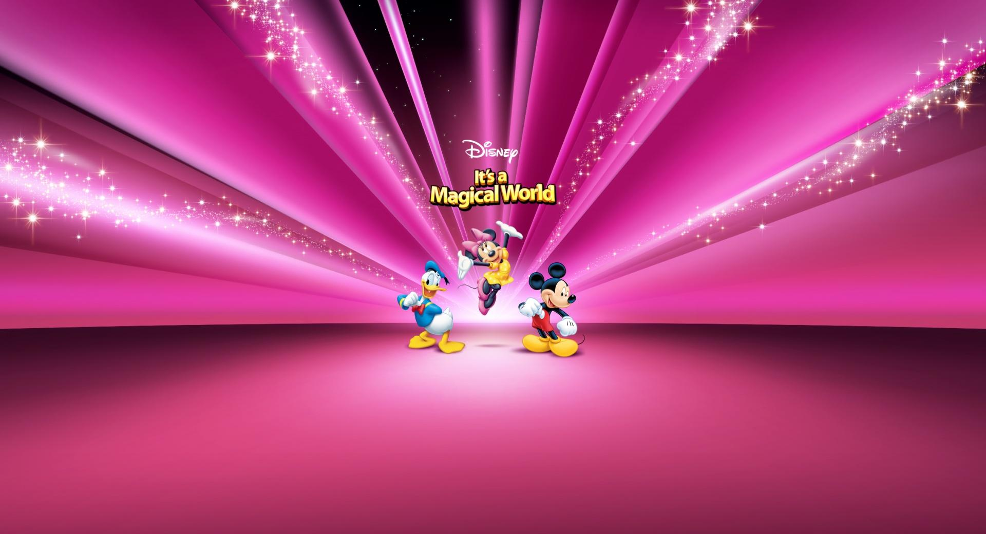 Disney Characters Pink wallpapers HD quality