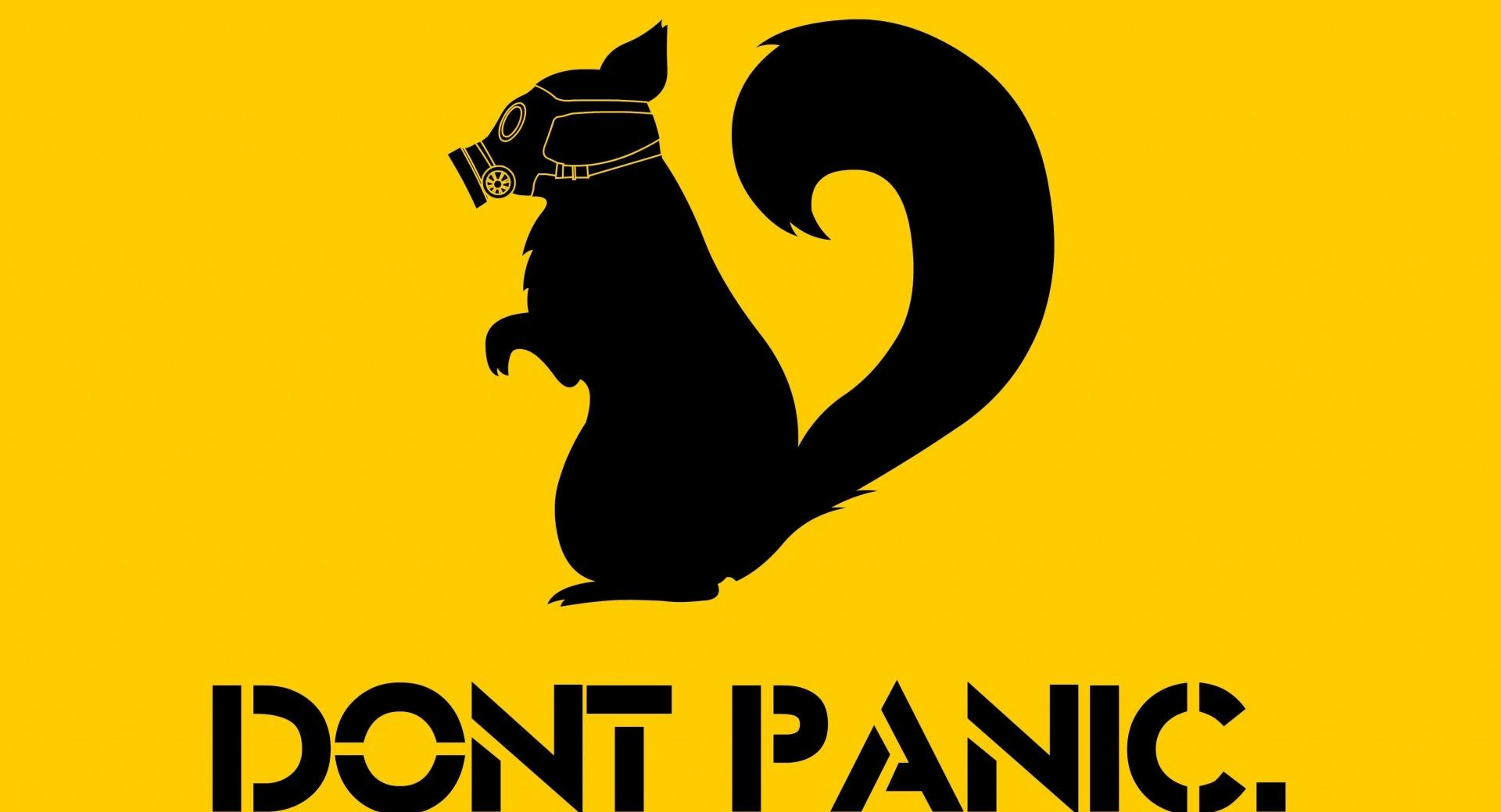 Dont Panic wallpapers HD quality