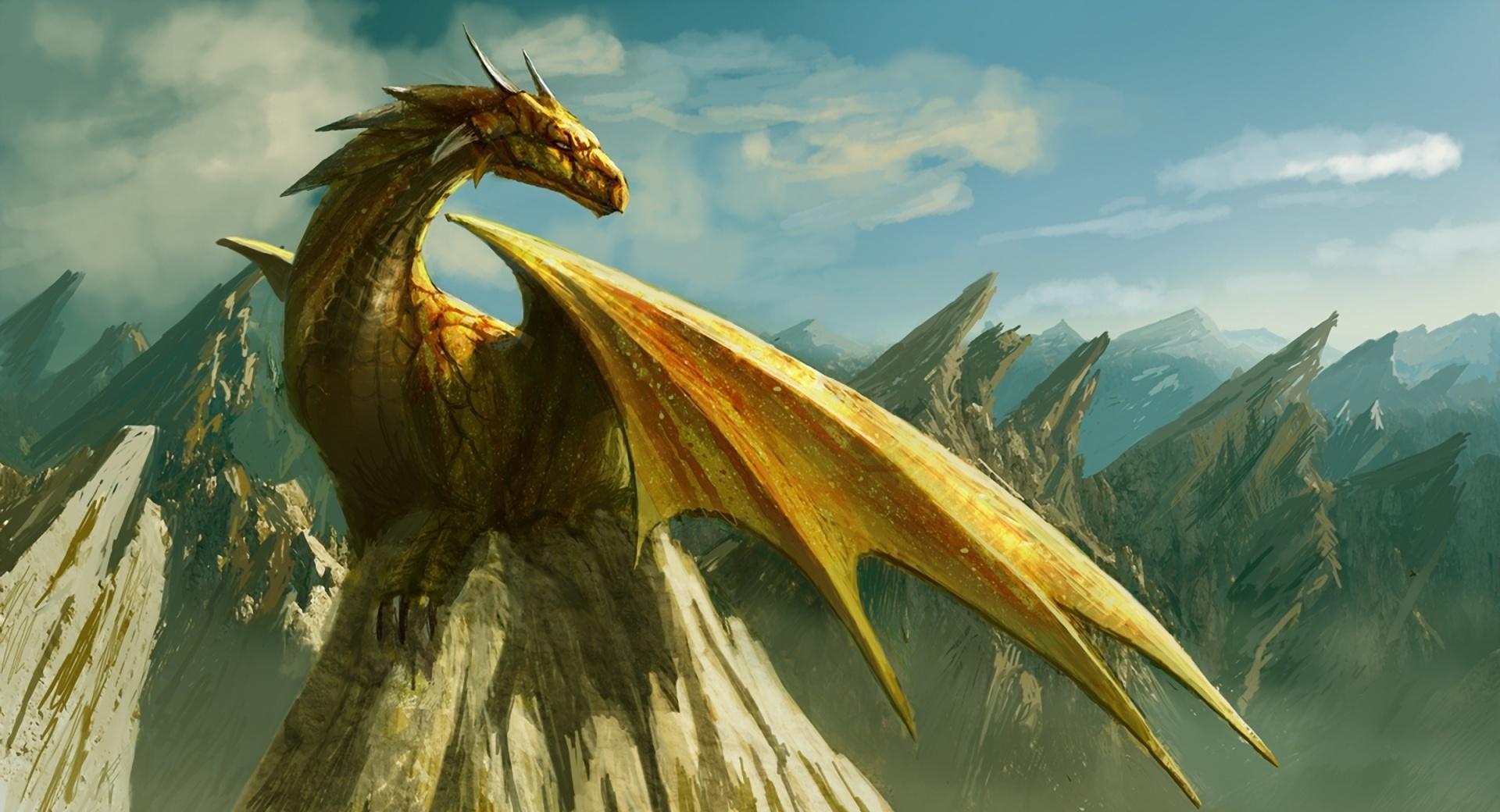Dragon Paining Art wallpapers HD quality