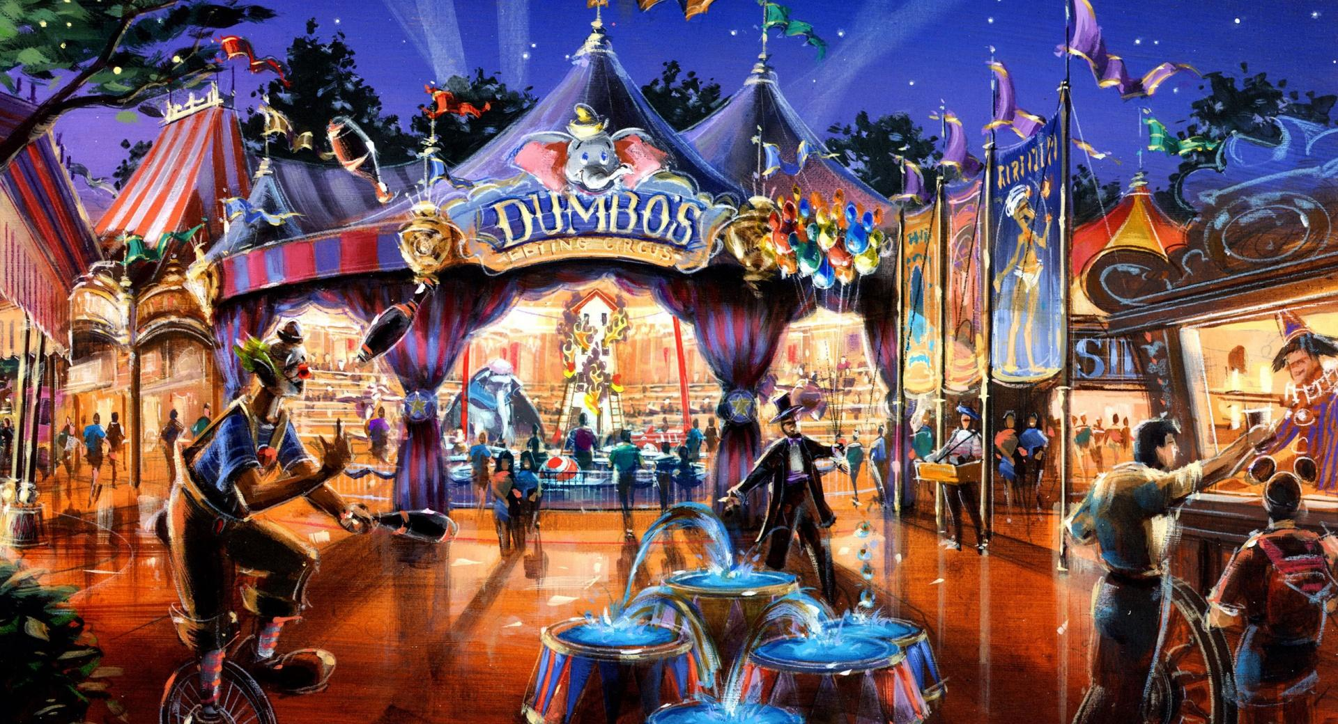 Dumbo In Fantasyland wallpapers HD quality