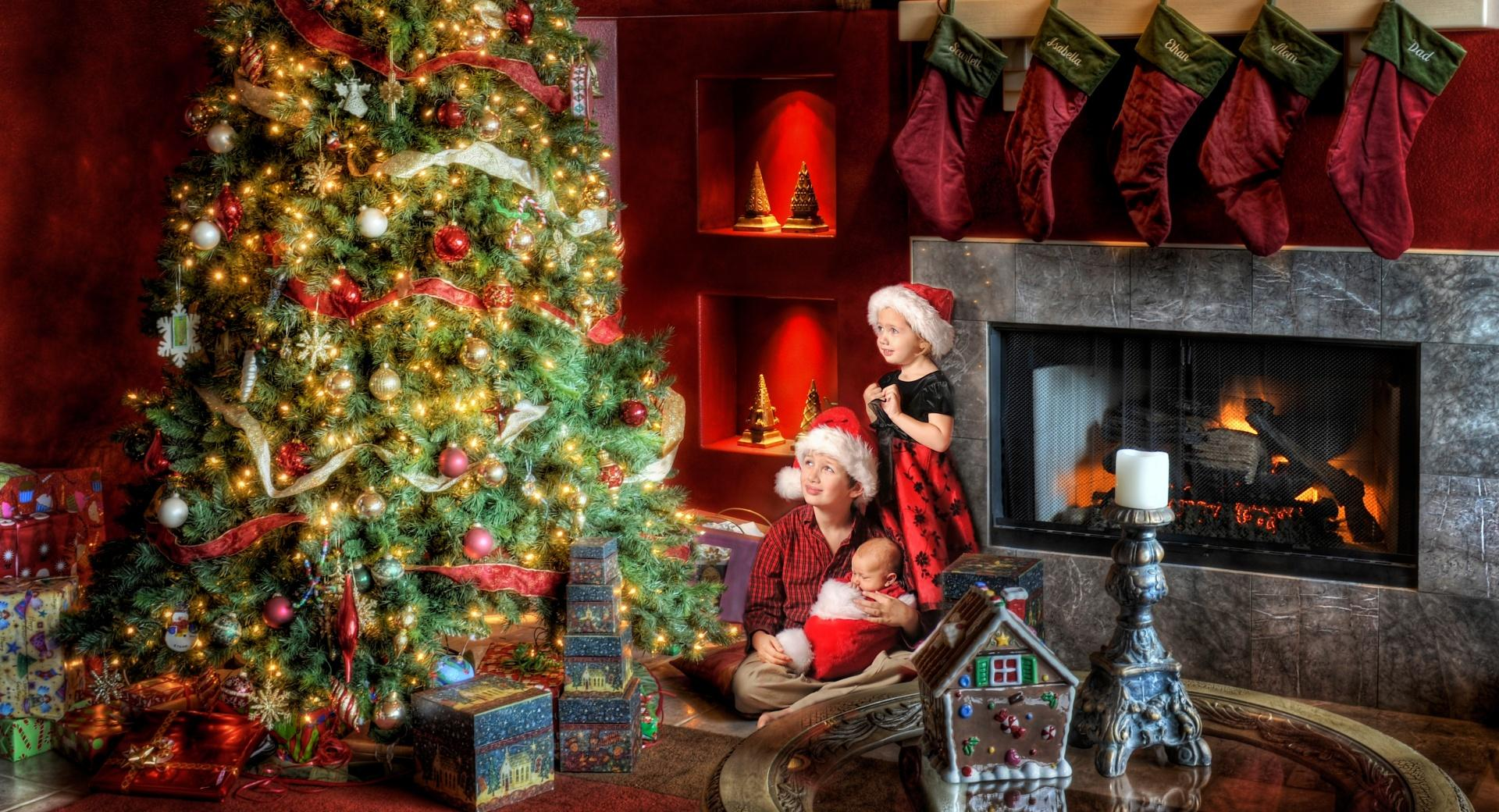 Family Christmas wallpapers HD quality