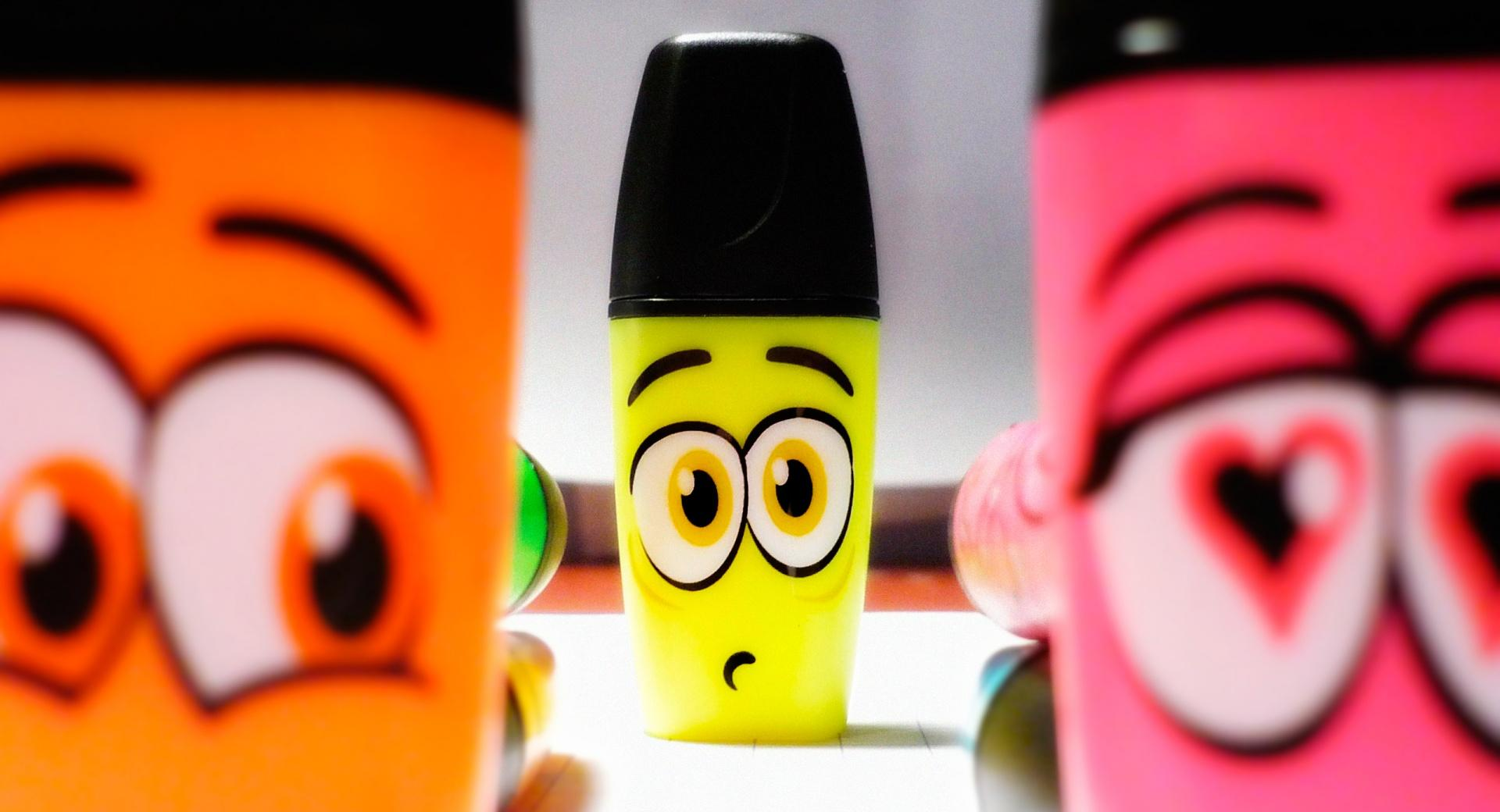 Funny Markers wallpapers HD quality